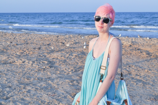 Pastel Carousel - Beach Style Outfit