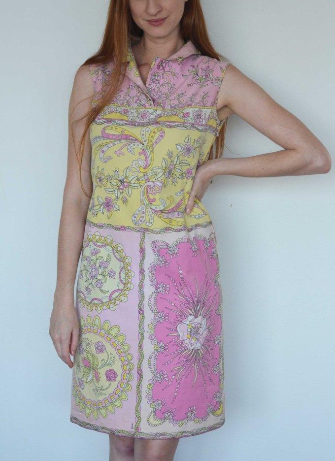 Pastel Carousel - Emilio Pucci vintage dress