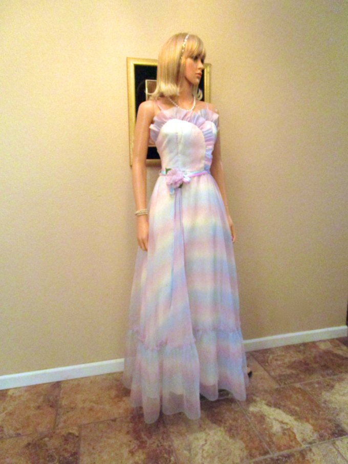 Pastel Carousel - vintage rainbow pastel dress
