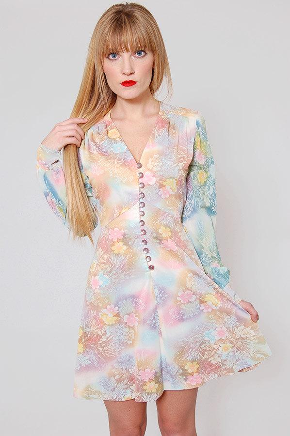 Pastel Carousel - pastel vintage dress