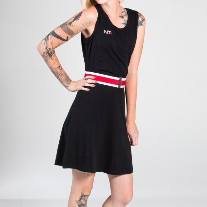 Pastel Carousel - Monday Must Haves - Costume Dresses - Mass Effect N7