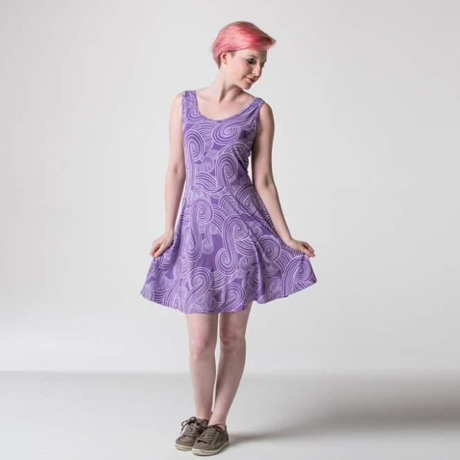 Pastel Carousel - Monday Must Haves - Costume Dresses - Mass Effect Tali
