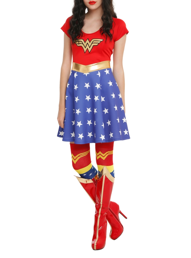 Pastel Carousel - Monday Must Haves - Costume Dresses - Wonder Woman