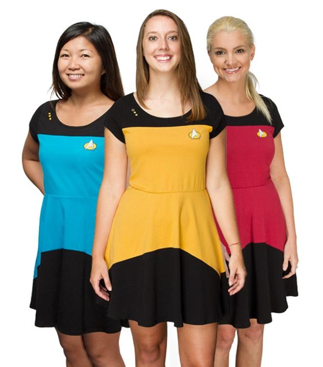 Pastel Carousel - Monday Must Haves - Costume Dresses - Star Trek