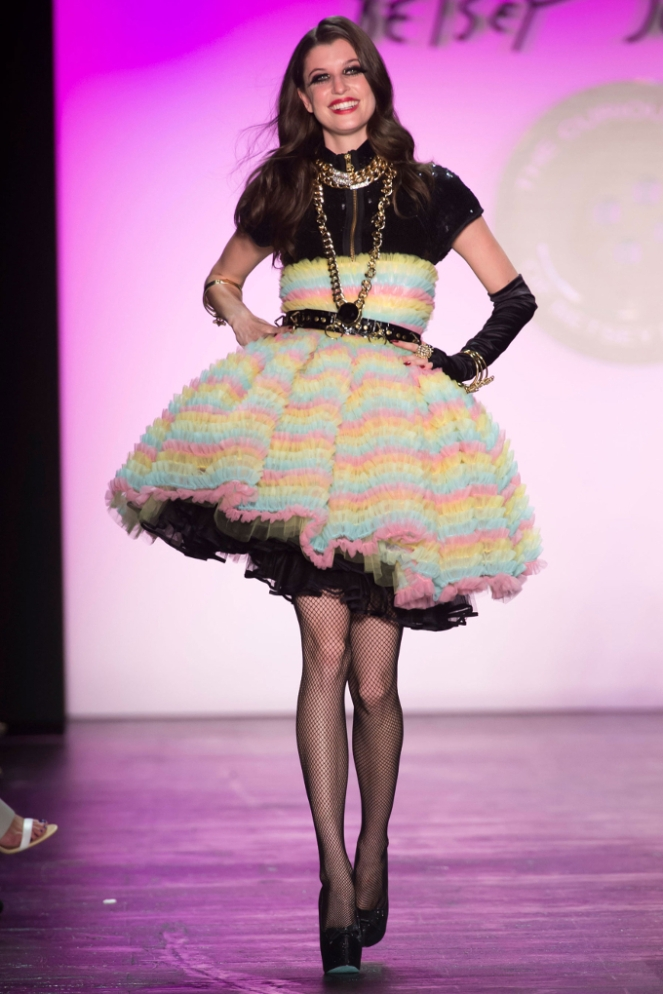 Pastel Carousel - New York Fashion Week - NYFW 2015 - Betsey Johnson