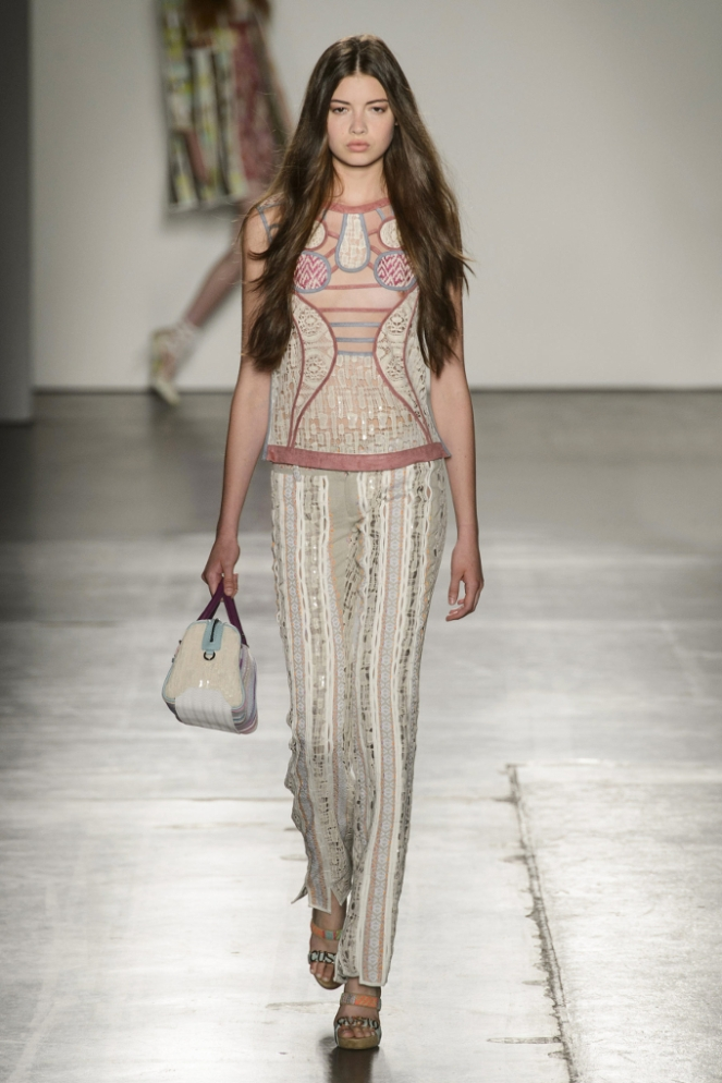 Pastel Carousel - New York Fashion Week - NYFW 2015 - Custo Barcelona