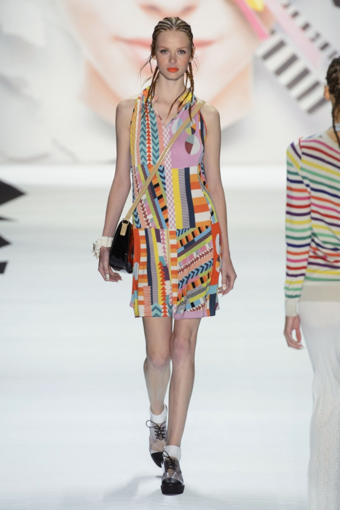 Pastel Carousel - New York Fashion Week - NYFW 2015 - Desigual