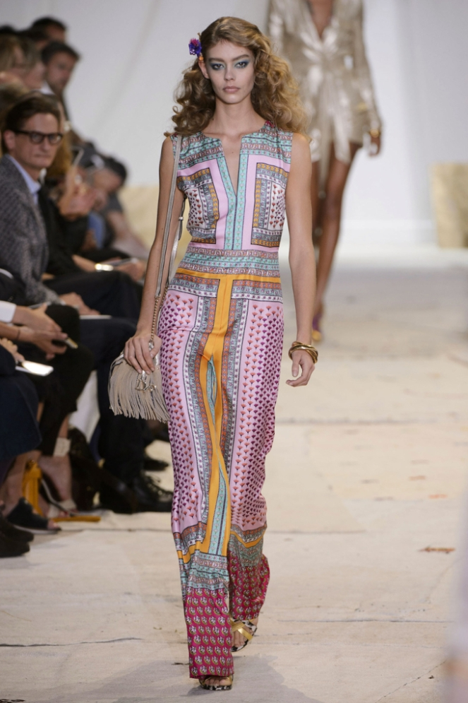 Pastel Carousel - New York Fashion Week - NYFW 2015 - Diane Von Furstenberg