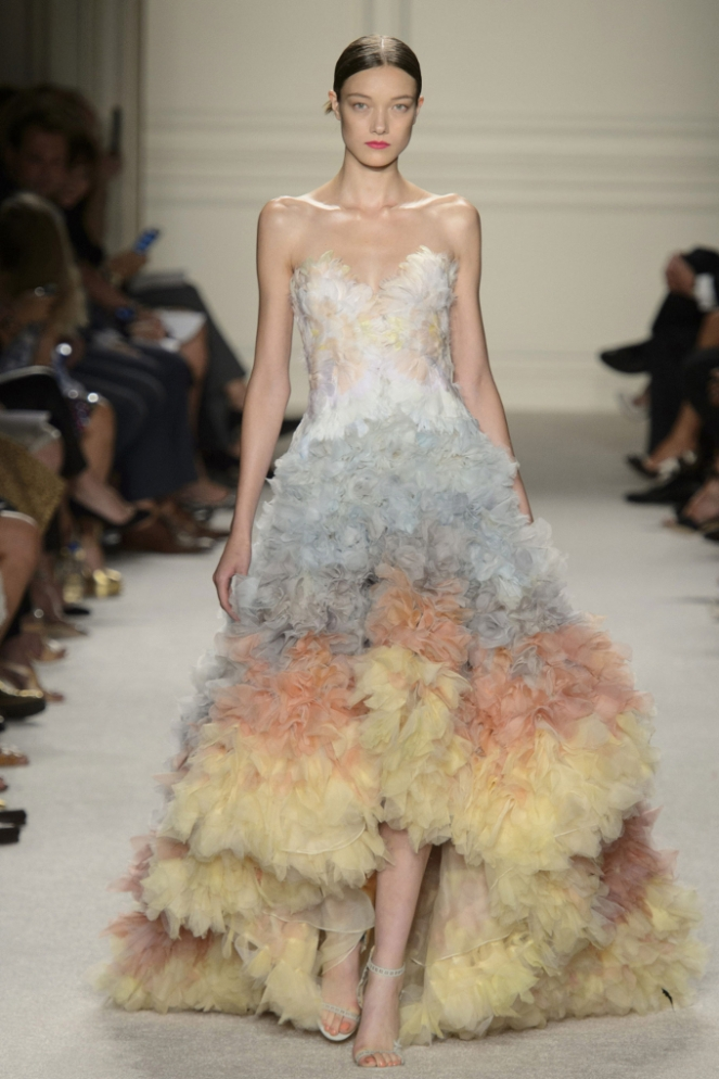 Pastel Carousel - New York Fashion Week - NYFW 2015 - Marchesa