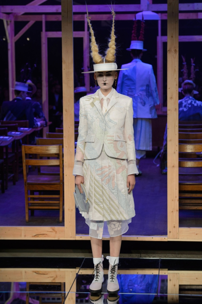 Pastel Carousel - New York Fashion Week - NYFW 2015 - Thom Browne