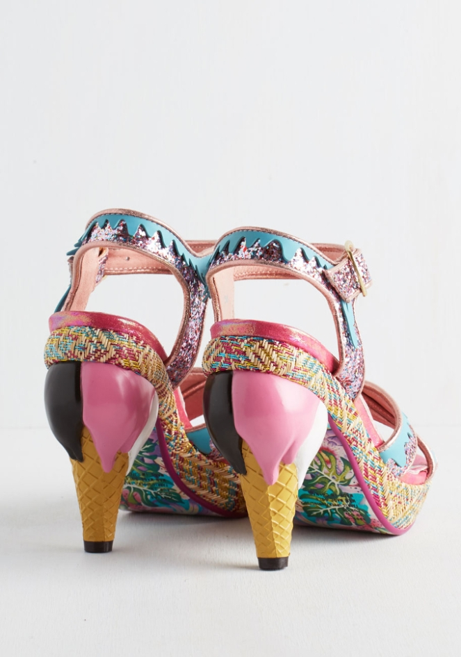 Pastel Carousel - Monday Must Haves - Summer Sales - Ice Cream Cone Shoes