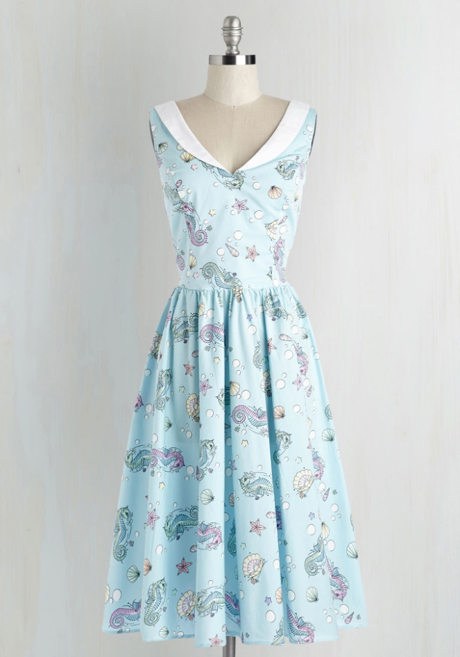 Pastel Carousel - Monday Must Haves - Summer Sales - Seahorse Dress