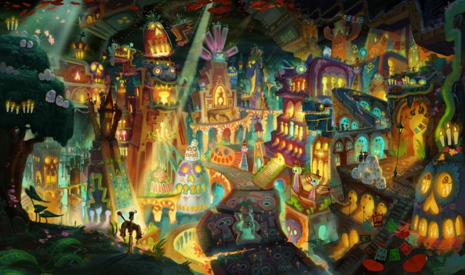 Pastel Carousel - Movie Review - The Book of Life