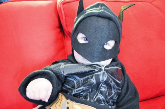 Pastel Carousel - Halloween - Baby Batman Costume