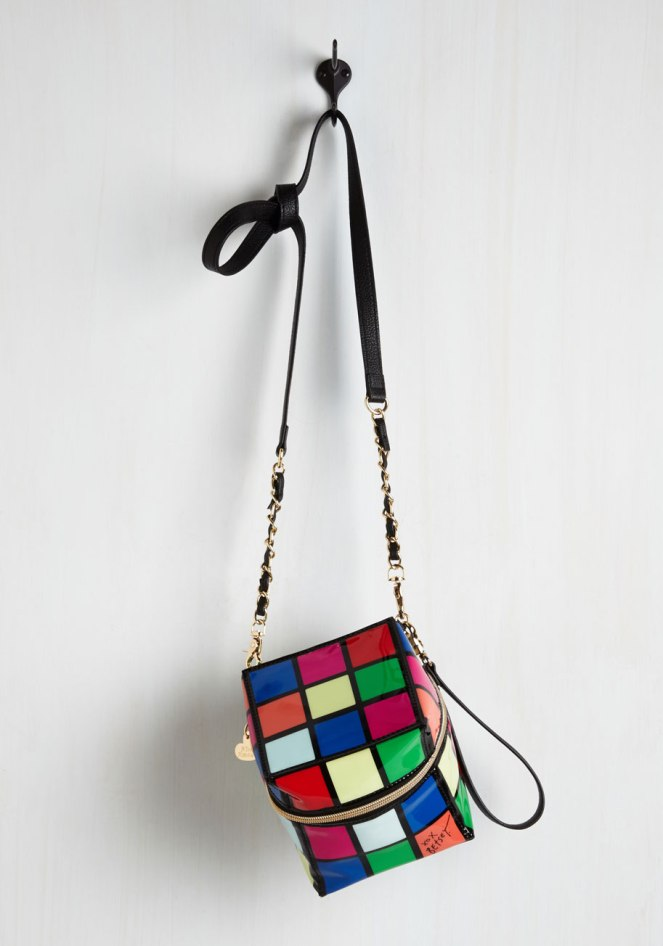 Pastel Carousel | Monday Must Haves | Novelty Bags | Rubik's Cube Bag