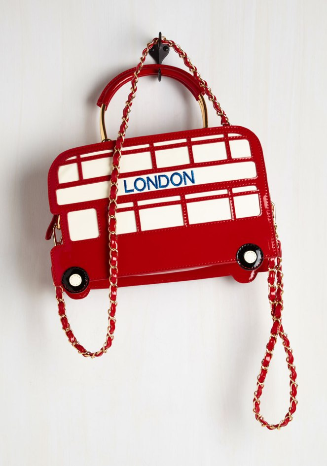Pastel Carousel | Monday Must Haves | Novelty Bags | Double-Decker Bus Bag