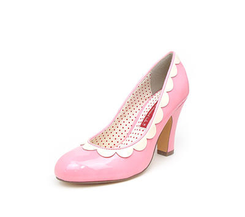 Pastel Carousel | Monday Must Haves | Bait Footwear | Pink Scalloped Shoes