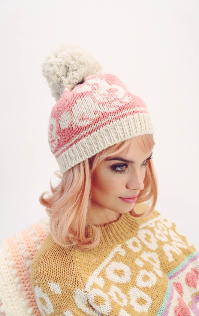Pastel Carousel | Monday Must Haves | Wildfox | Bunny Jump Cable Knit Beanie