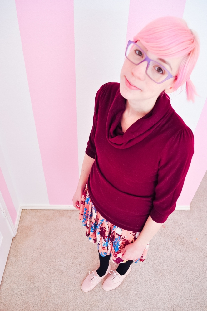 Pastel Carousel | My Style | OOTD | Mommy Fashion | Pink and Maroon