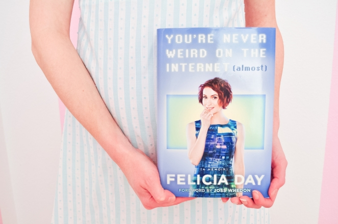Pastel Carousel | Book Review | You're Never Weird On The Internet (Almost) | Felicia Day