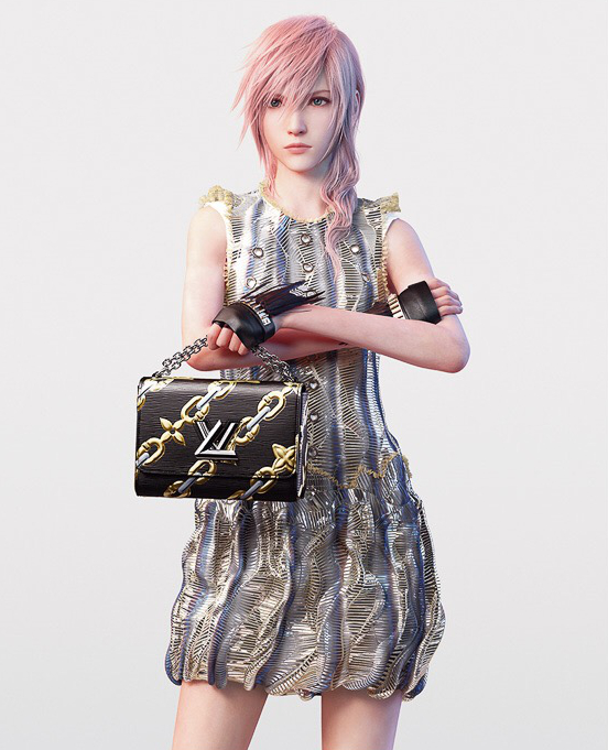 Pastel Carousel | Gaming | Fashion | Final Fantasy's Lightning Is The Face Of Louis Vuitton SS16 | Series 4