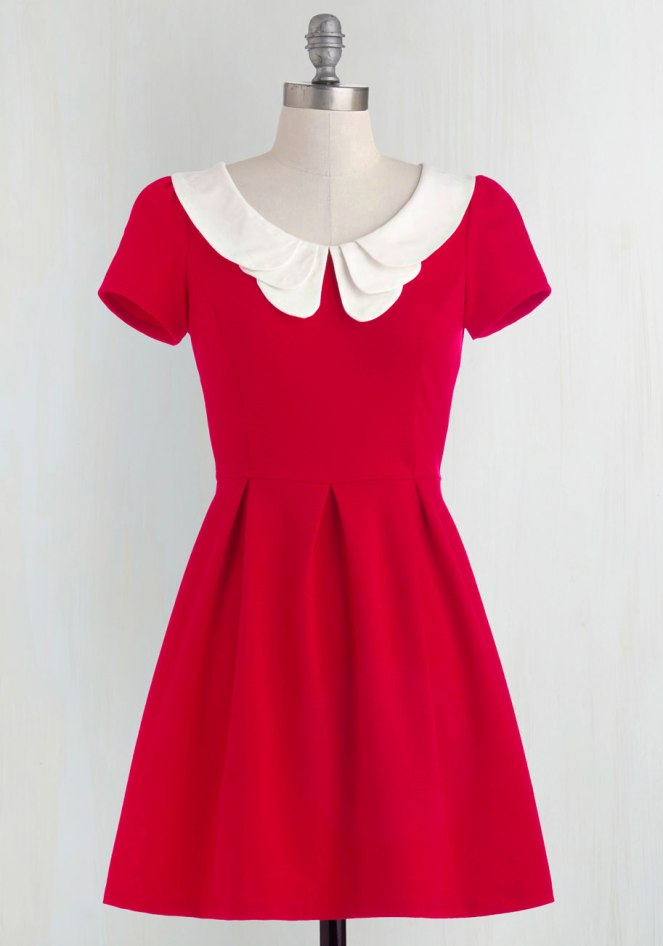 Pastel Carousel | Monday Must Haves | Valentine's Day | ModCloth Red Dress