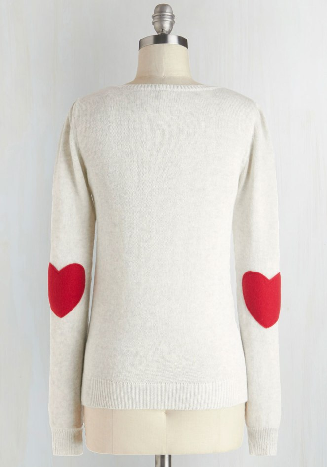 Pastel Carousel | Monday Must Haves | Valentine's Day | ModCloth Heart Sweater