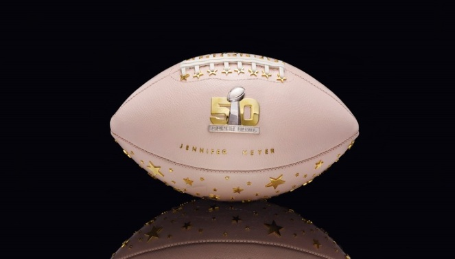 Pastel Carousel | Superbowl 50 | CFDA Designer Footballs | NFL Auction | Jennifer Meyer - Jennifer Meyer