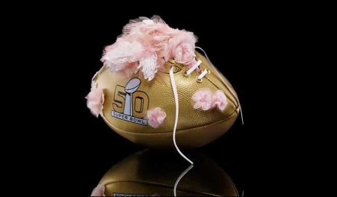 Pastel Carousel | Superbowl 50 | CFDA Designer Footballs | NFL Auction | Tadashi Shoji - Tadashi Shoji