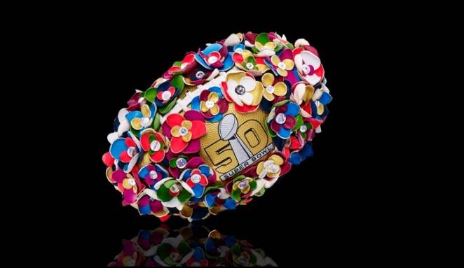 Pastel Carousel | Superbowl 50 | CFDA Designer Footballs | NFL Auction | Tanya Taylor - Tanya Taylor