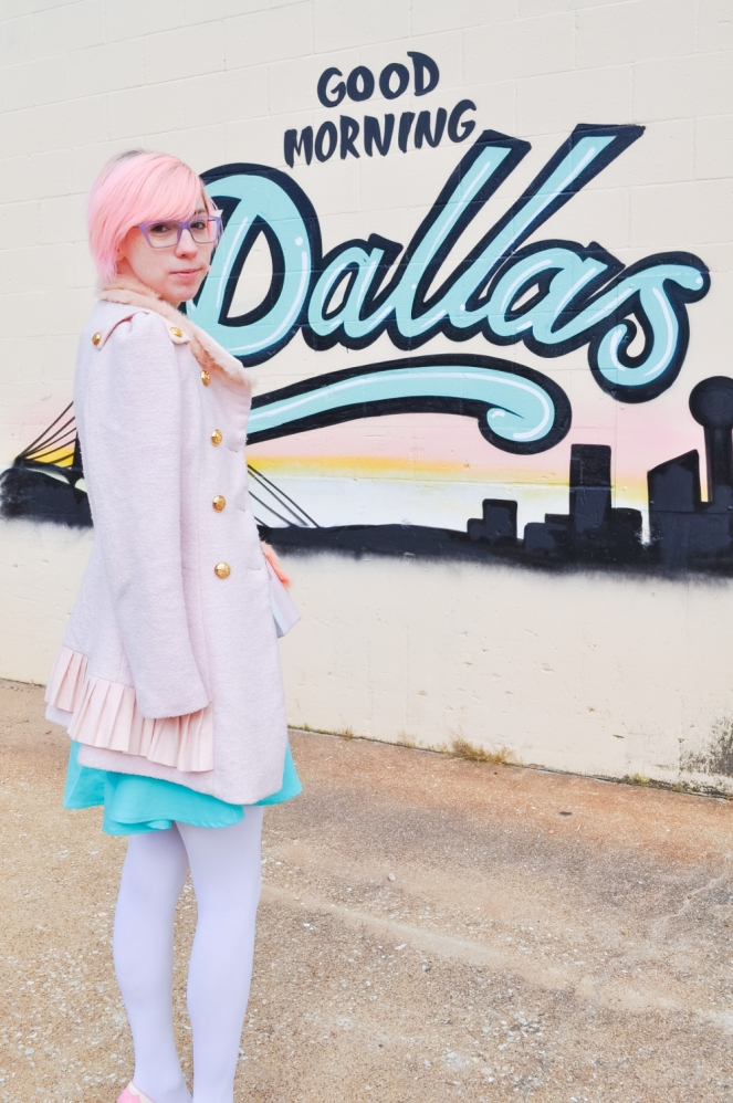 Pastel Carousel | Dallas Blogger | Good Morning Dallas | Fashion | OOTD | Asos | Choies | BAIT Footwear