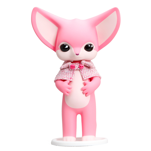 Pastel Carousel | Whimsical Toys | Fennec Fox Dona | Everland x twelveDot | My Plastic Heart