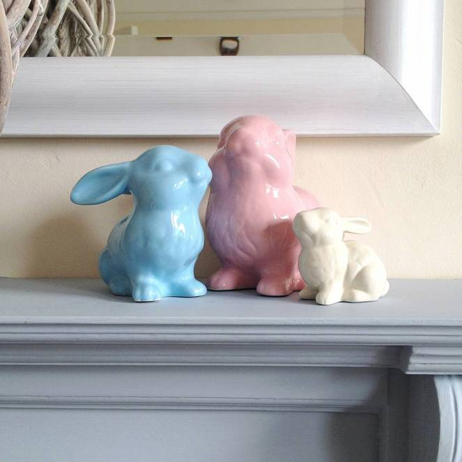 Pastel Carousel | Monday Must Haves | Easter Bunny | Not On The High Street | Pastel Ceramic Bunny Decoration