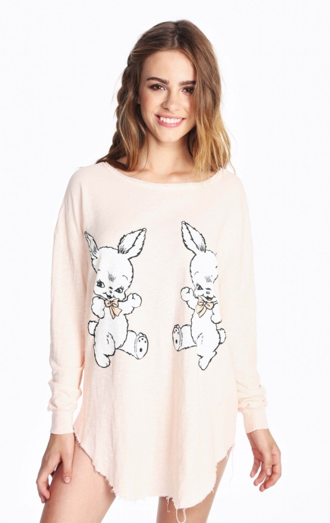 Pastel Carousel | Monday Must Haves | Easter Bunny | Wildfox | Bunny Tunic