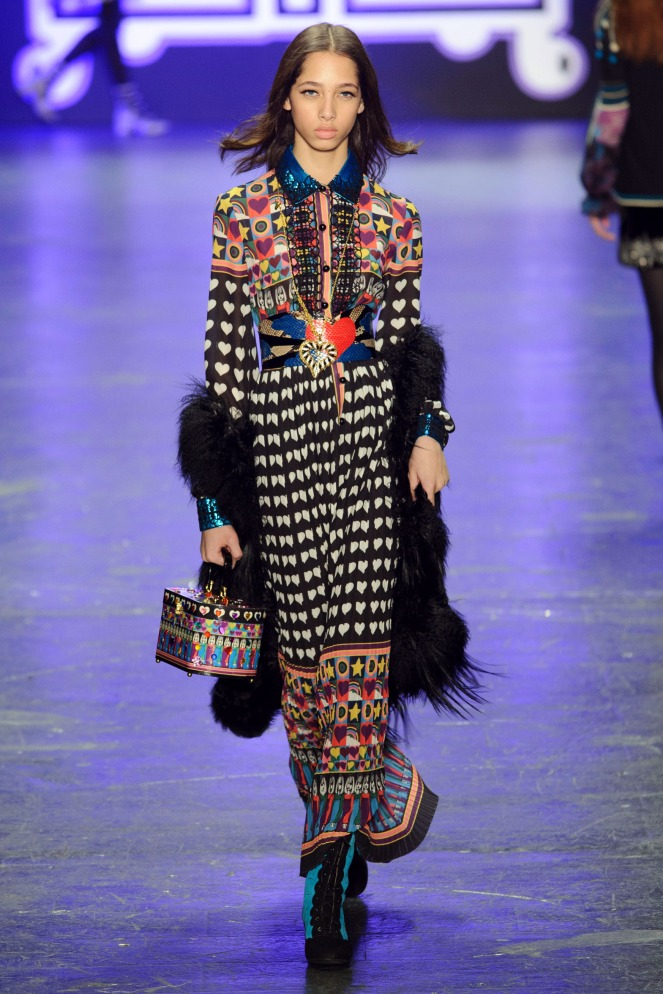 Pastel Carousel | New York Fashion Week | NYFW Fall 2016 | Anna Sui