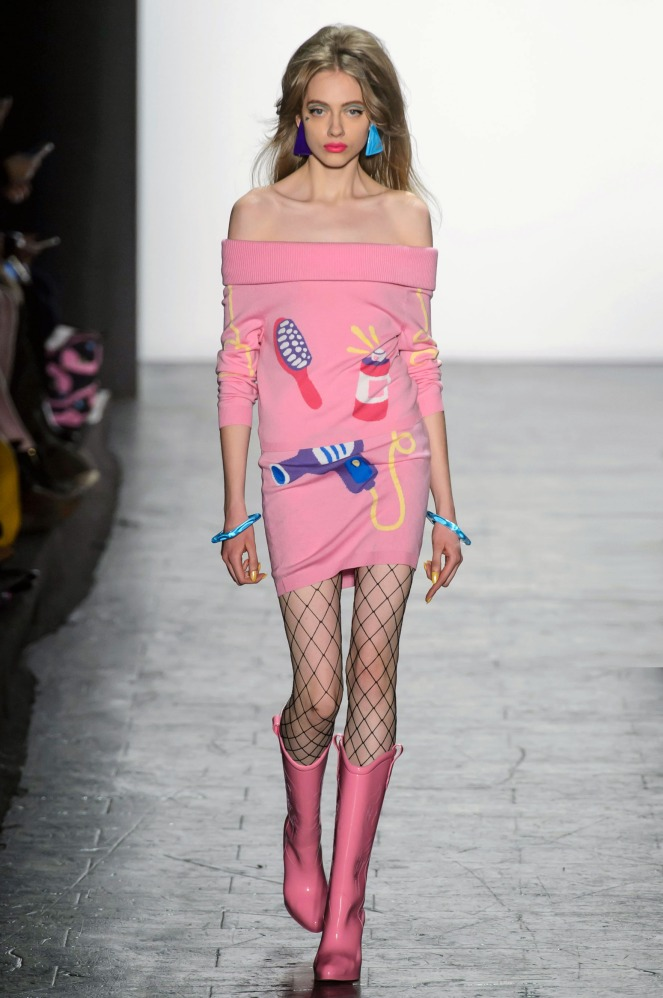 Pastel Carousel | New York Fashion Week | NYFW Fall 2016 | Jeremy Scott