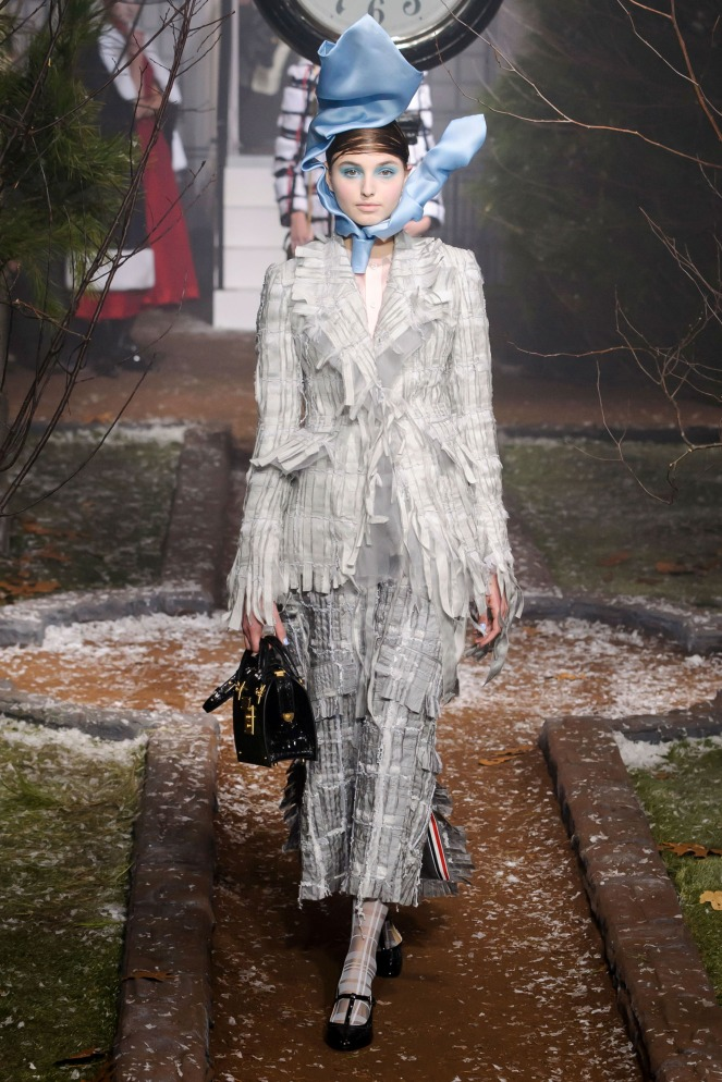 Pastel Carousel | New York Fashion Week | NYFW Fall 2016 | Thom Browne