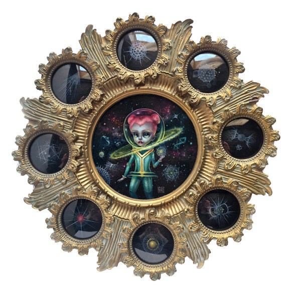Pastel Carousel | Solo Art Show 2016 | Mab Graves | Arch Enemy Arts | Atomic Candy Cosmonauts