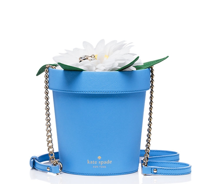Pastel Carousel | Monday Must Haves | Novelty Bags and Purses | Kate Spade Flower Pot Bag