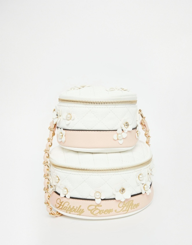 Pastel Carousel | Monday Must Haves | Novelty Bags and Purses | Asos Wedding Cake Cross Body Bag