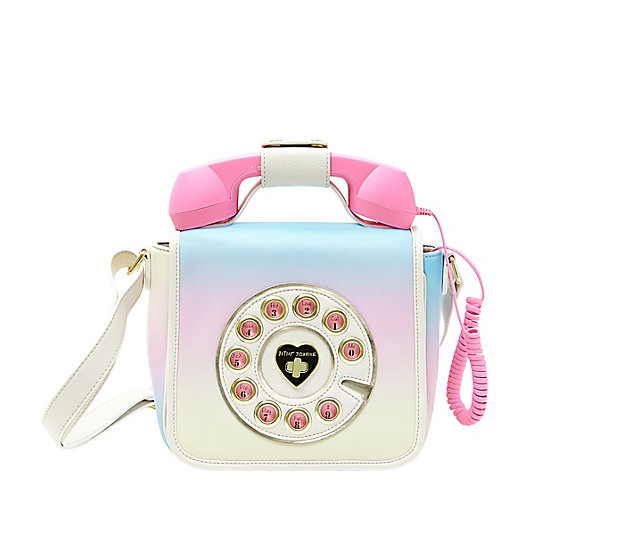 Pastel Carousel | Monday Must Haves | Novelty Bags and Purses | Betsey Johnson Hotline Phone Bag
