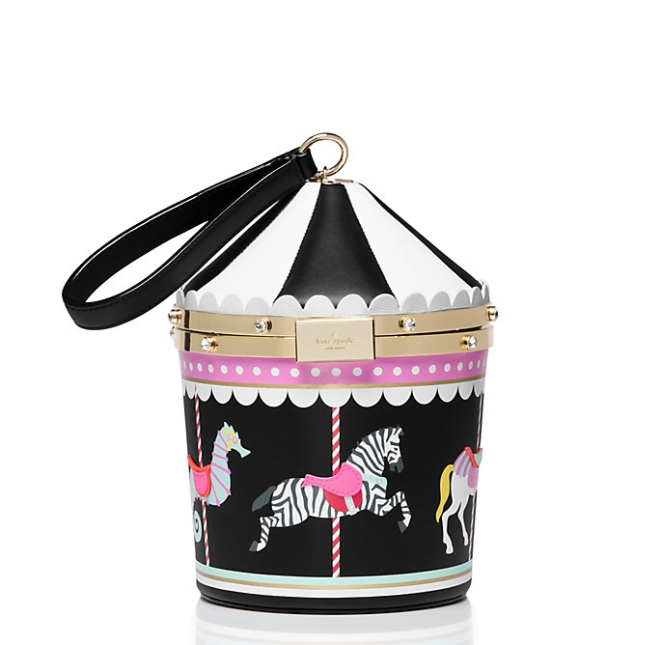 Pastel Carousel | Monday Must Haves | Novelty Bags and Purses | Kate Spade Carousel Bag