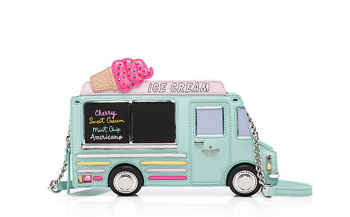 Pastel Carousel | Monday Must Haves | Novelty Bags and Purses | Kate Spade Ice Cream Truck Bag