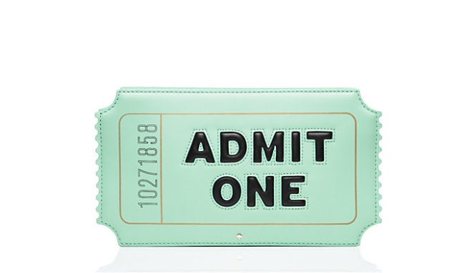 Pastel Carousel | Monday Must Haves | Novelty Bags and Purses | Kate Spade Admit One Bag
