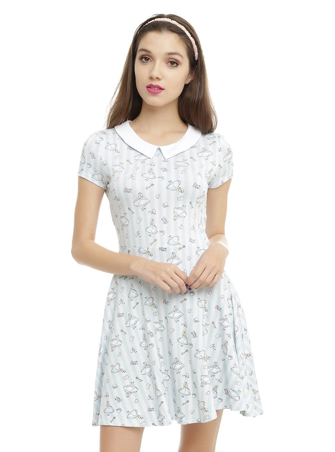 Pastel Carousel | Monday Must Haves | Sweet Spring Novelty Prints | Alice in Wonderland Dress | Hot Topic
