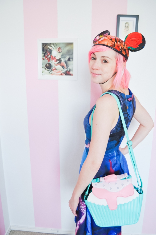 Pastel Carousel | My Alice Style OOTD | Alice in Wonderland | Irregular Choice