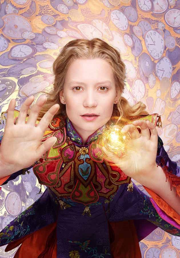Pastel Carousel | Movie Review | Alice Through The Looking Glass | Mia Wasikowska as Alice