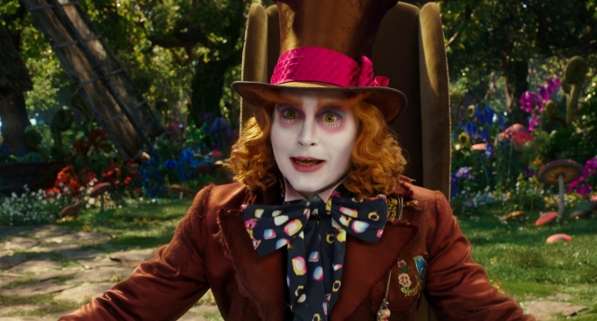 Pastel Carousel | Movie Review | Alice Through The Looking Glass | Johnny Depp as The Mad Hatter